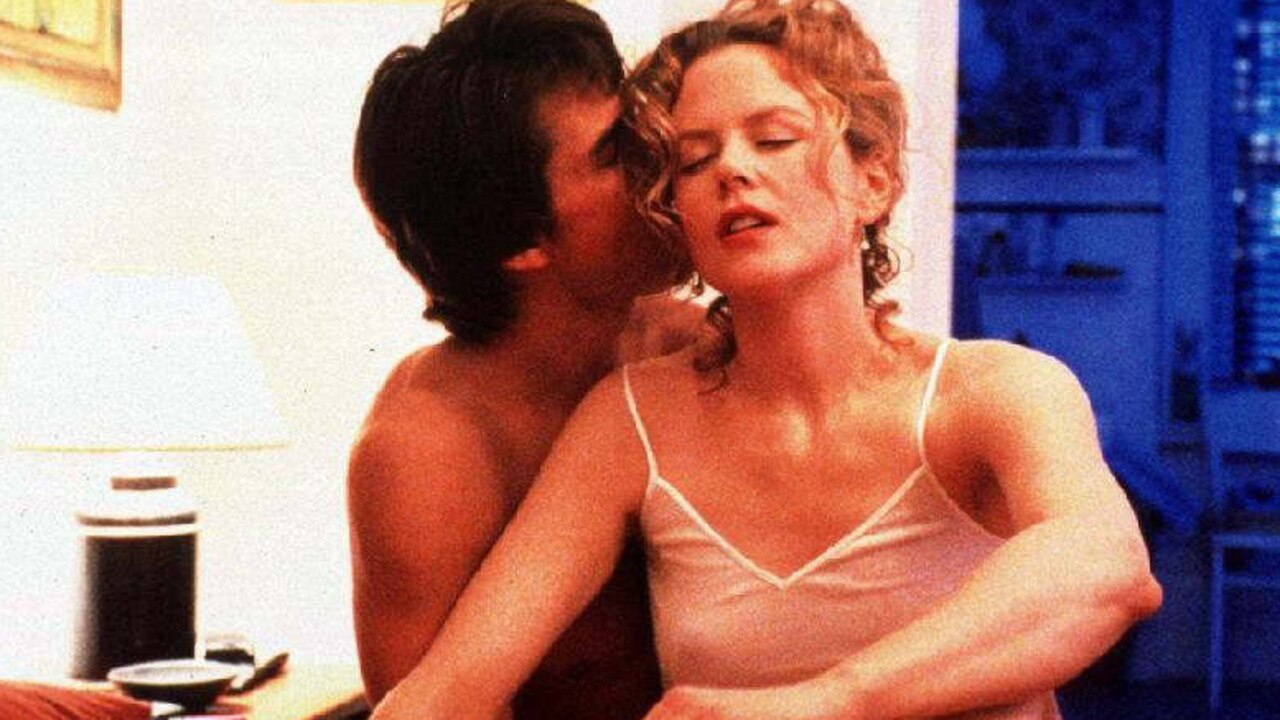 Tom Cruise and Nicole Kidman in the 1999 film Eyes Wide Shut.