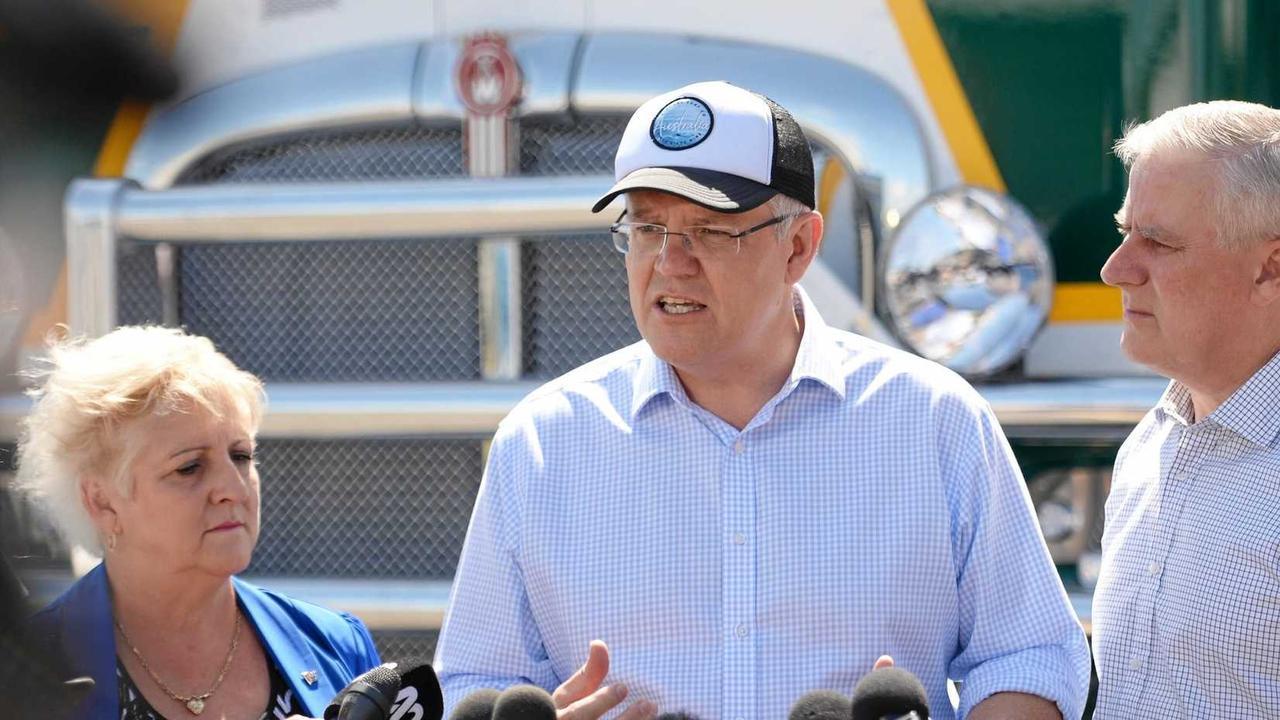 Capricornia MP Michelle Landry, Prime Minister Scott Morrison and Deputy Prime Minister Michael McCormack pledged $800 million towards the Rockhampton Ring Road in 2018.