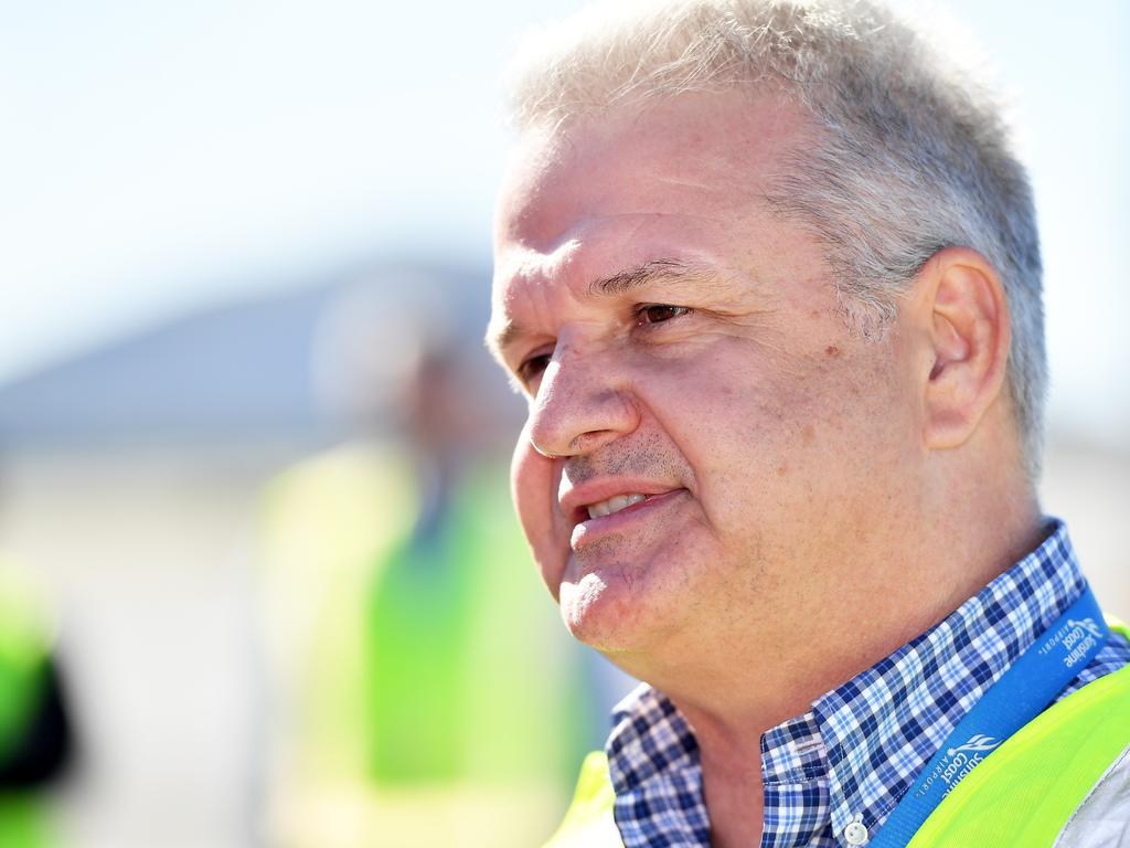 Sunshine Coast Airport CEO Andrew Brodie. Photo: Patrick Woods