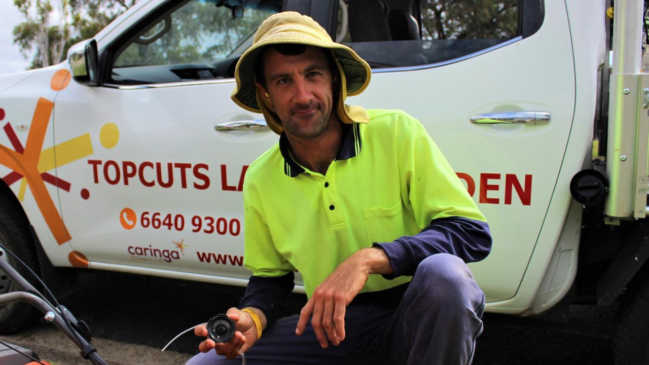 Matt Teale has worked with the Caringa Top Cuts Crew in Grafton for the last 10 years. They are now expanding their operations to Coffs Harbour. Photo: Tim Jarrett