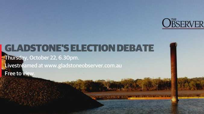FREE TO VIEW: Gladstone's Election Debate tomorrow