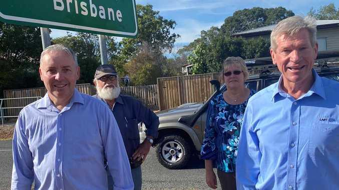 LNP's $7m pledge to fix dodgy Lowood to Fernvale road