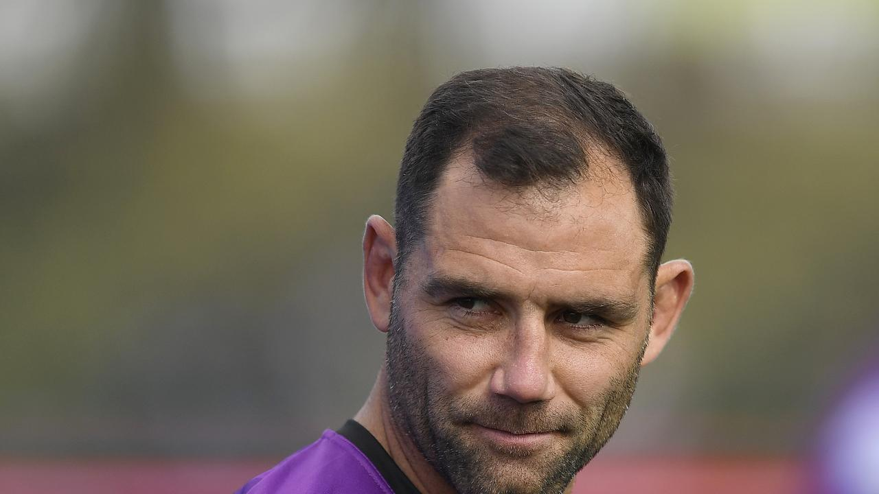 Cameron Smith is not the NRL's GOAT according to Paul Crawley. (Photo by Ian Hitchcock/Getty Images)