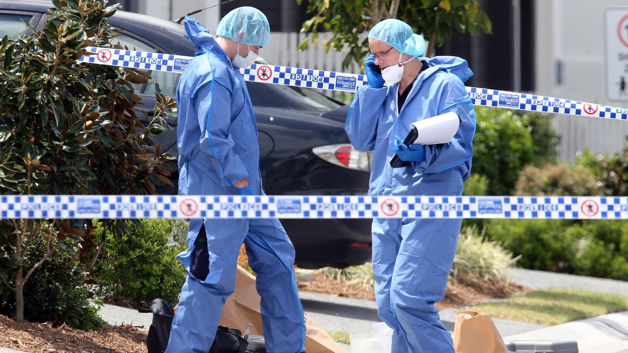 Shane Bowden was killed in an execution-style murder. He recently told The Courier-Mail he had come to Queensland to recover from a badly infected gunshot wound to his leg. Picture: Richard Gosling.
