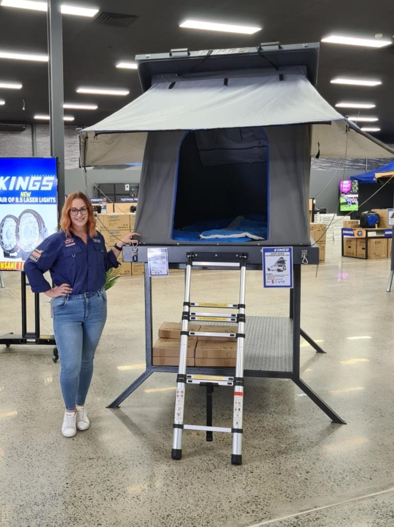 4WD Supacentre Mackay sales manager Kacey Finlayson. Picture: Contributed.