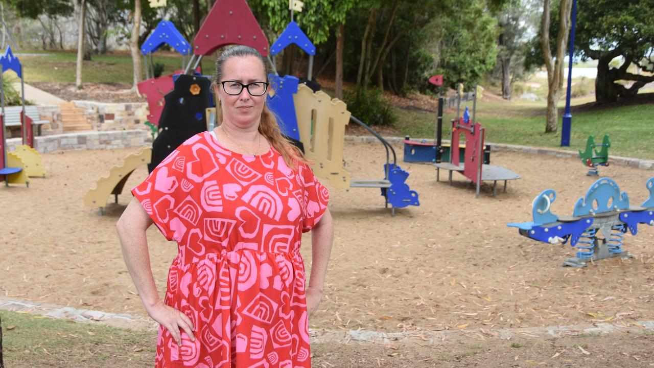 Ms Sargaison said her children have experienced burned feet and hands as a result of lack of shade at the Millennium Esplanade playground.