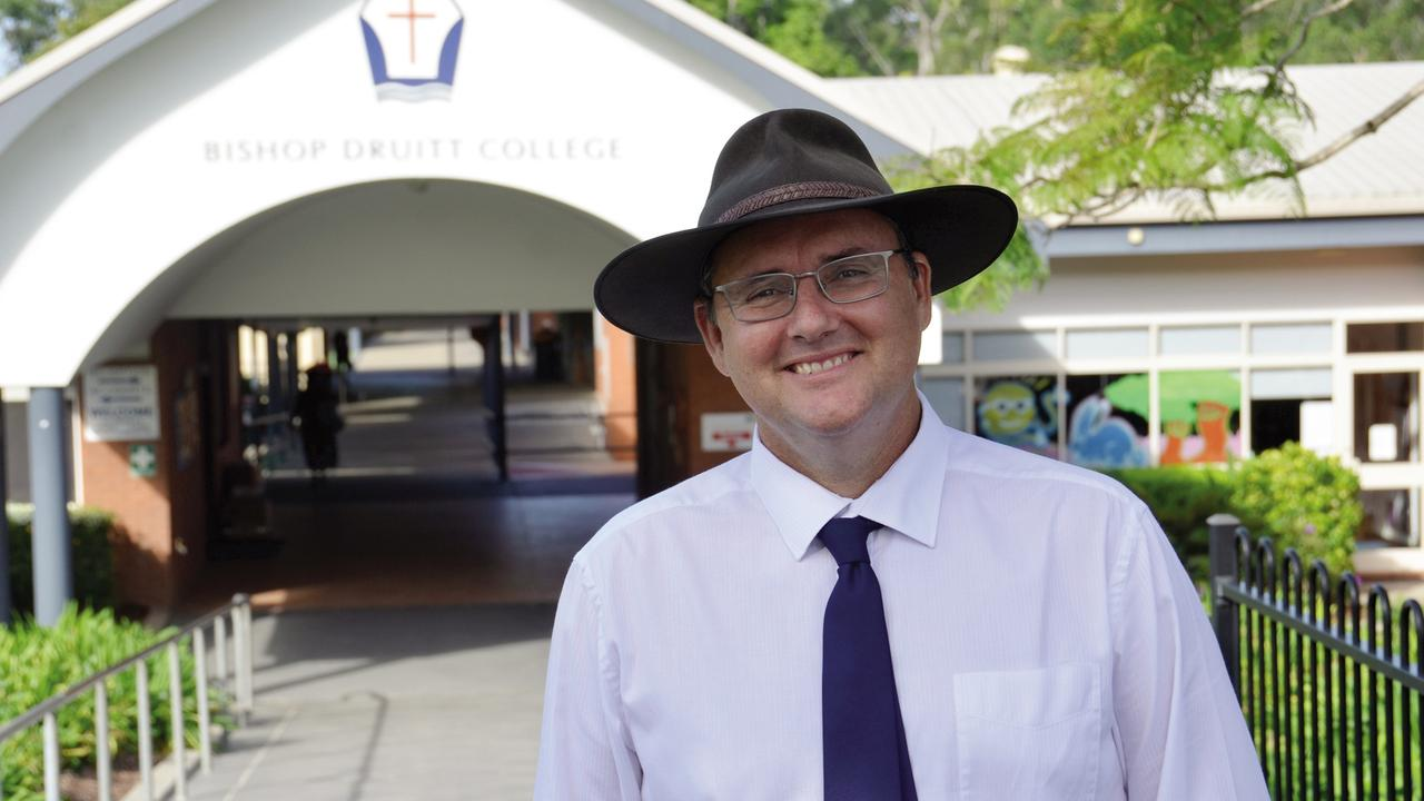 Bishop Druitt College principal Nick Johnstone.