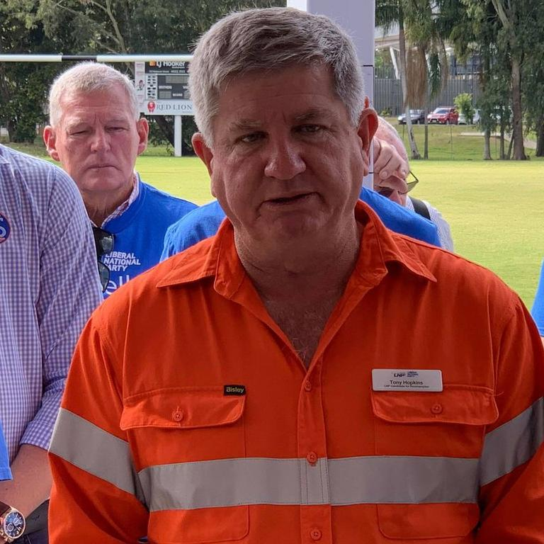 LNP candidate for Rockhampton Tony Hopkins criticised Labor's record on health.