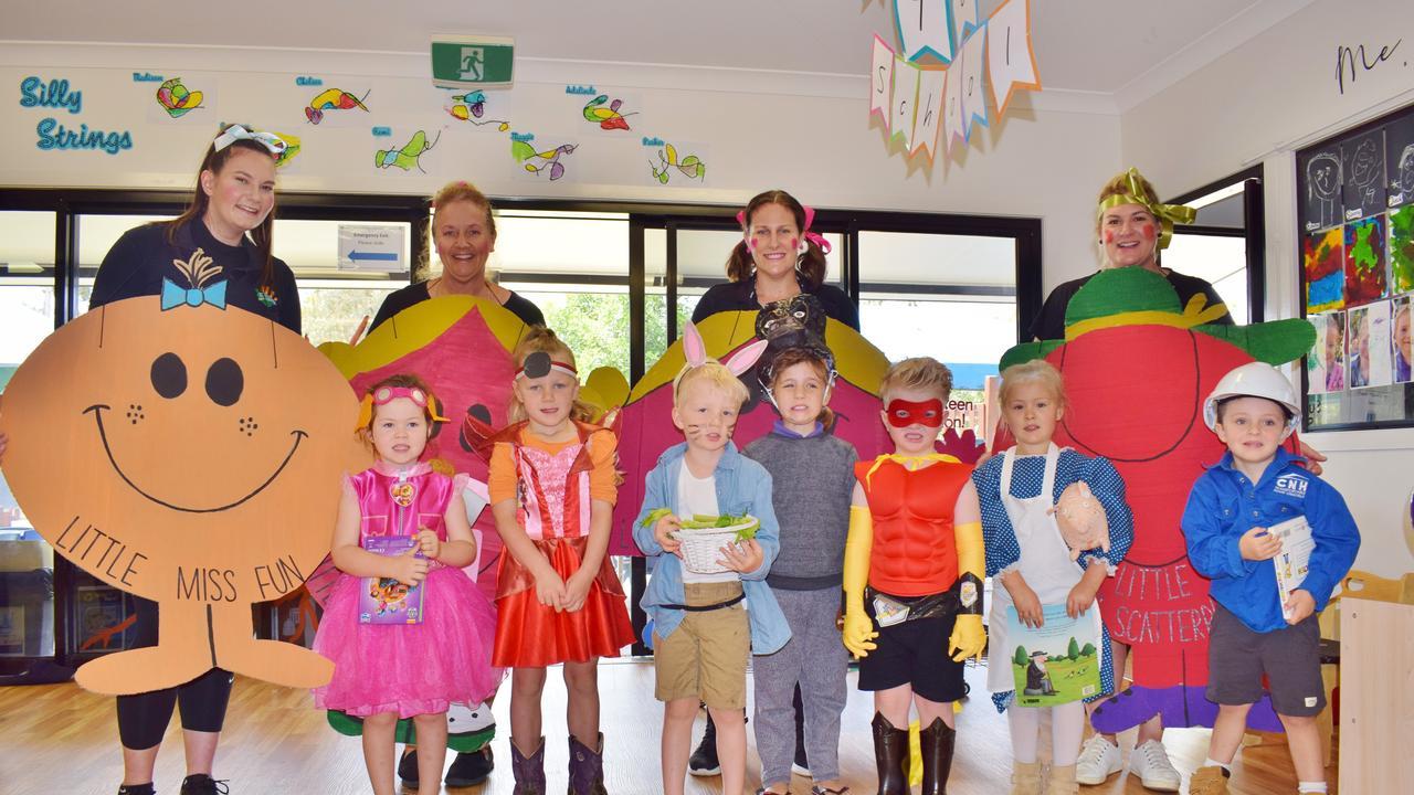 BOOK WEEK: C&K Chinchilla Community Kindergarten's little stars dressed up for book week on Wednesday, October 21, 2020. Pic: Peta McEachern