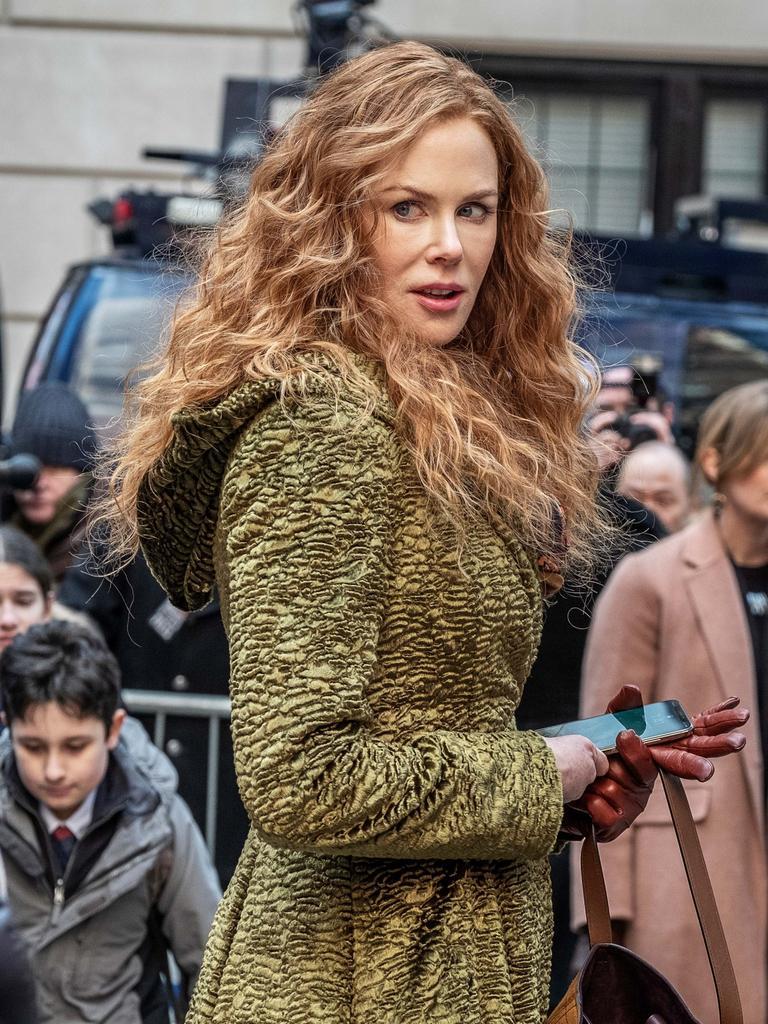 Nicole Kidman in a scene from The Undoing, screening on Binge and Foxtel.