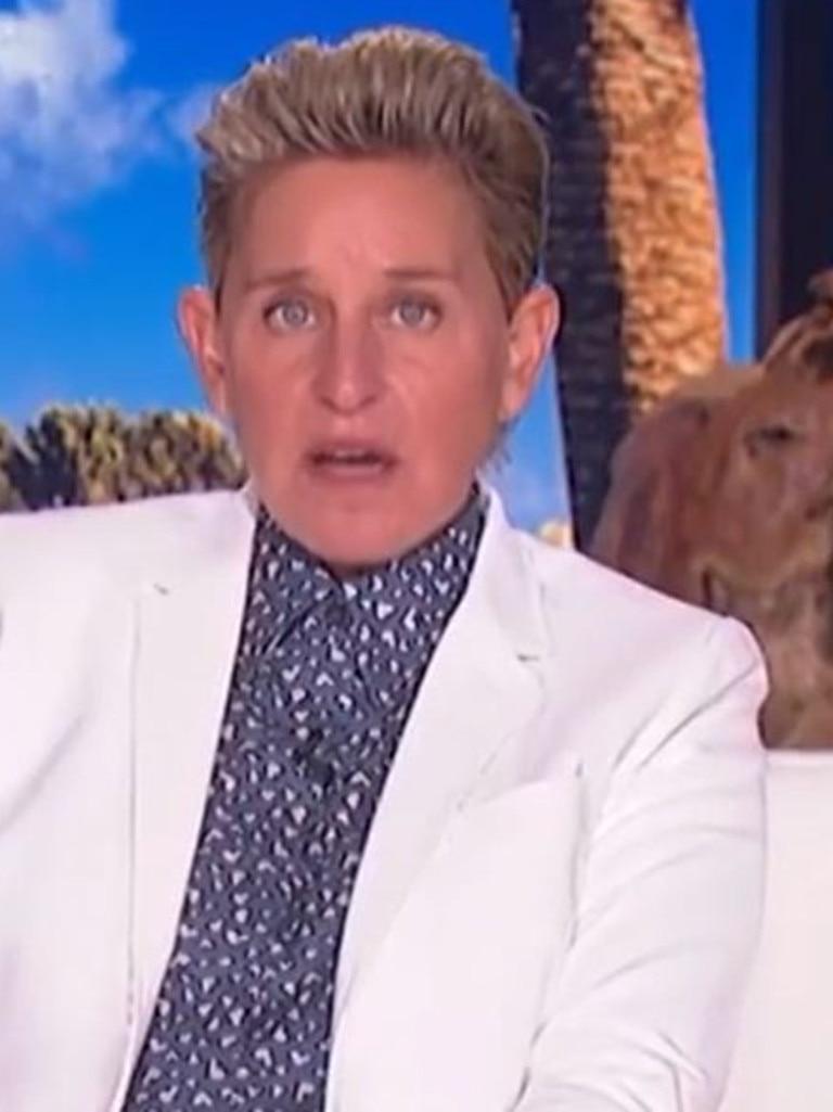 Ellen on The Ellen Show.