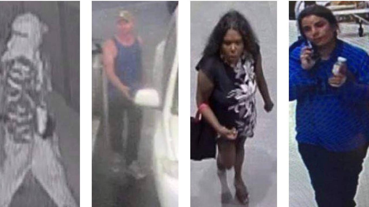 Police are looking to speak to these four people.
