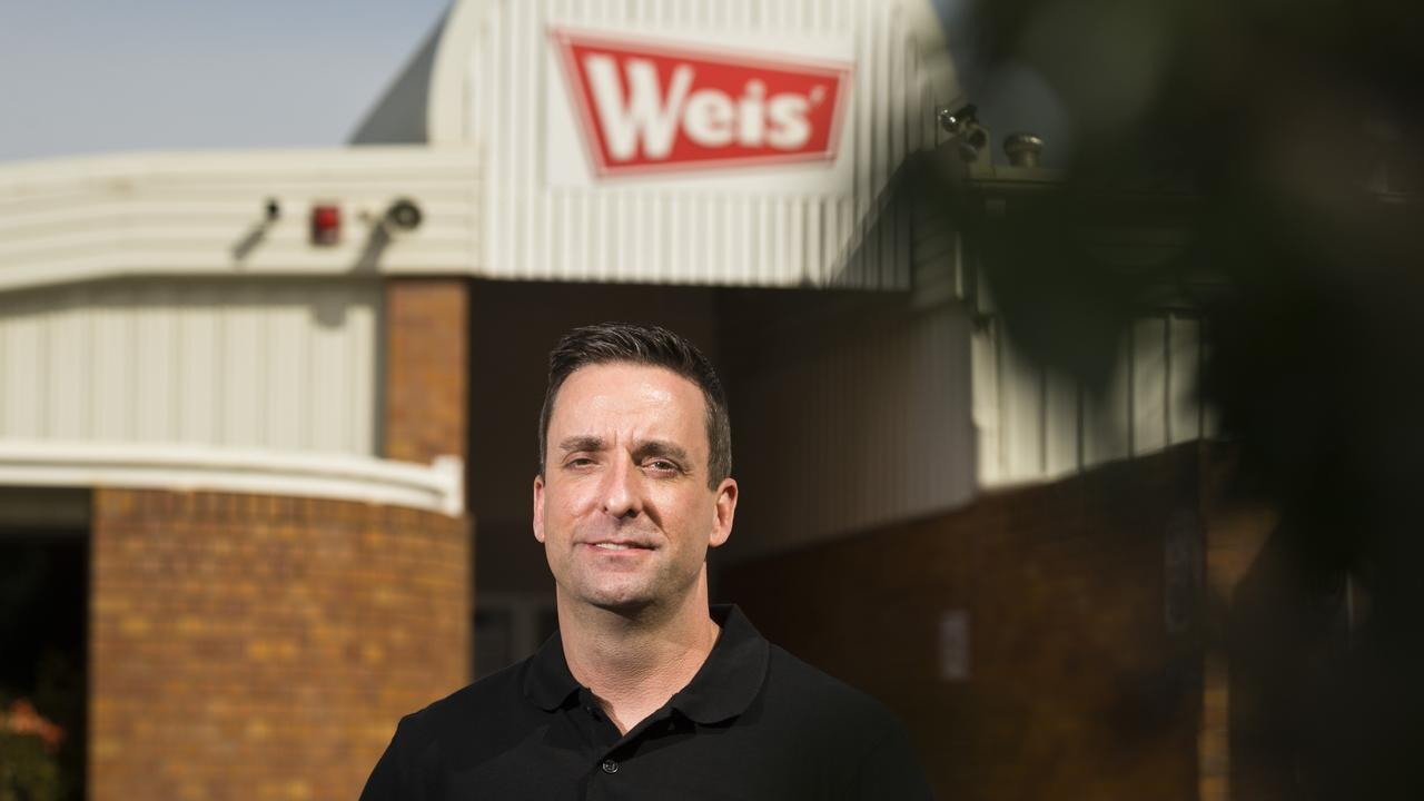 Weis factory director Keith Head outside the manufacturing facility in Toowoomba as Unilever continue to wind down local production in the eventual move to New South Wales. Picture: Kevin Farmer