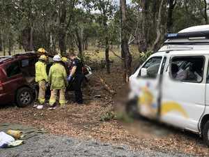 Tanby Rd crash victim still critical in Brisbane hospital