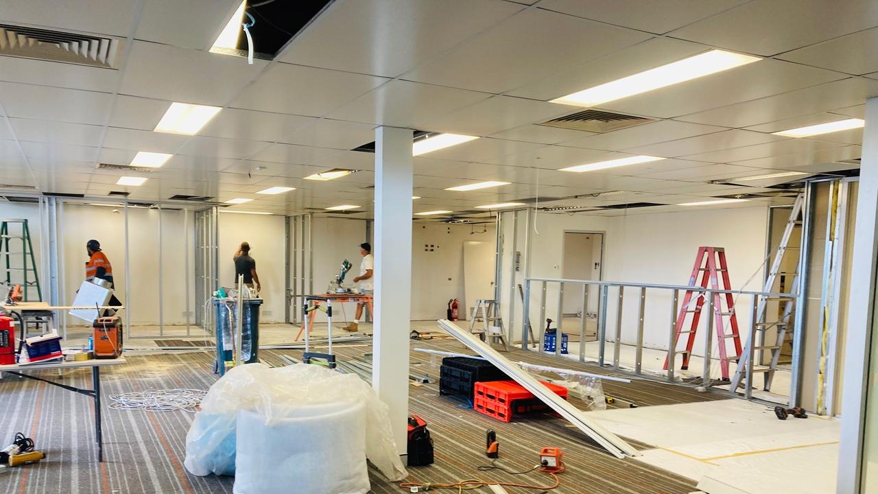 Focal Community Services is building its new hub in the old Bendigo Bank building in Booval, and is set to open doors on November 5.