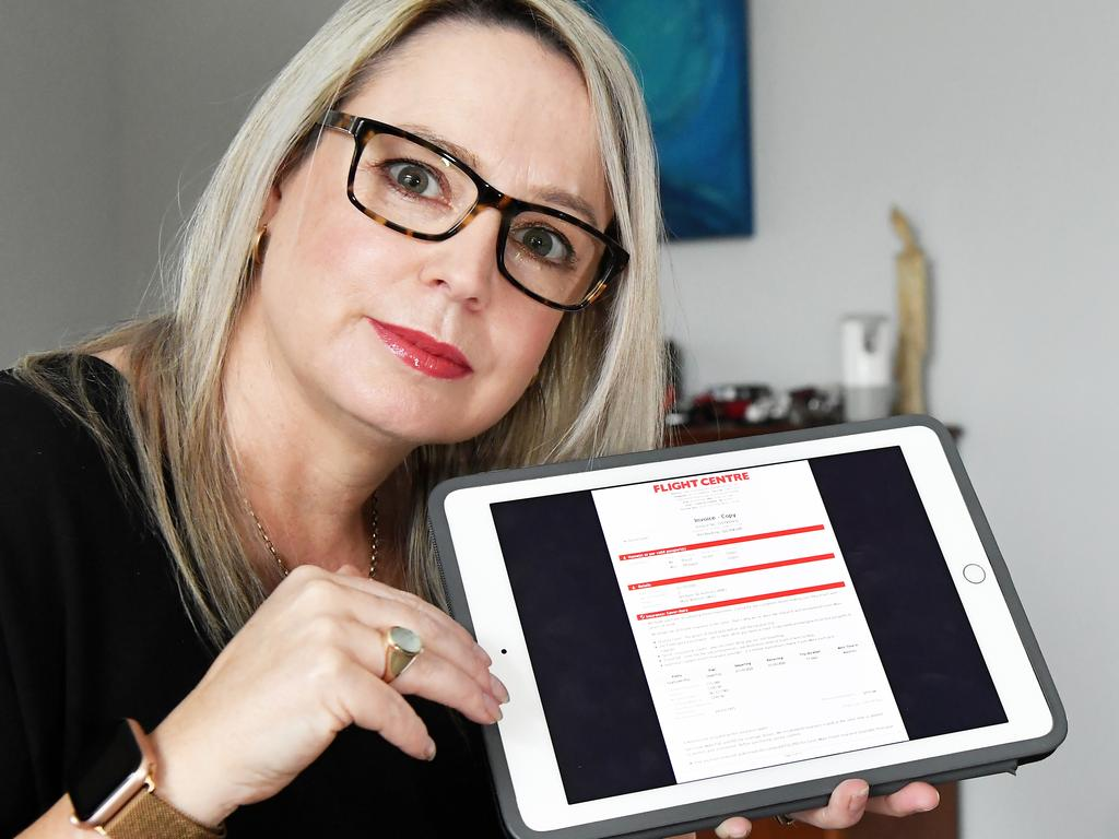 Caloundra woman Pip Slater is desperate to get the refund as she needs the money. Photo: Patrick Woods