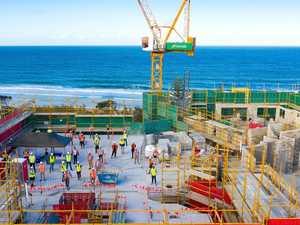 Confidence sky high: Coast crane count on the rise