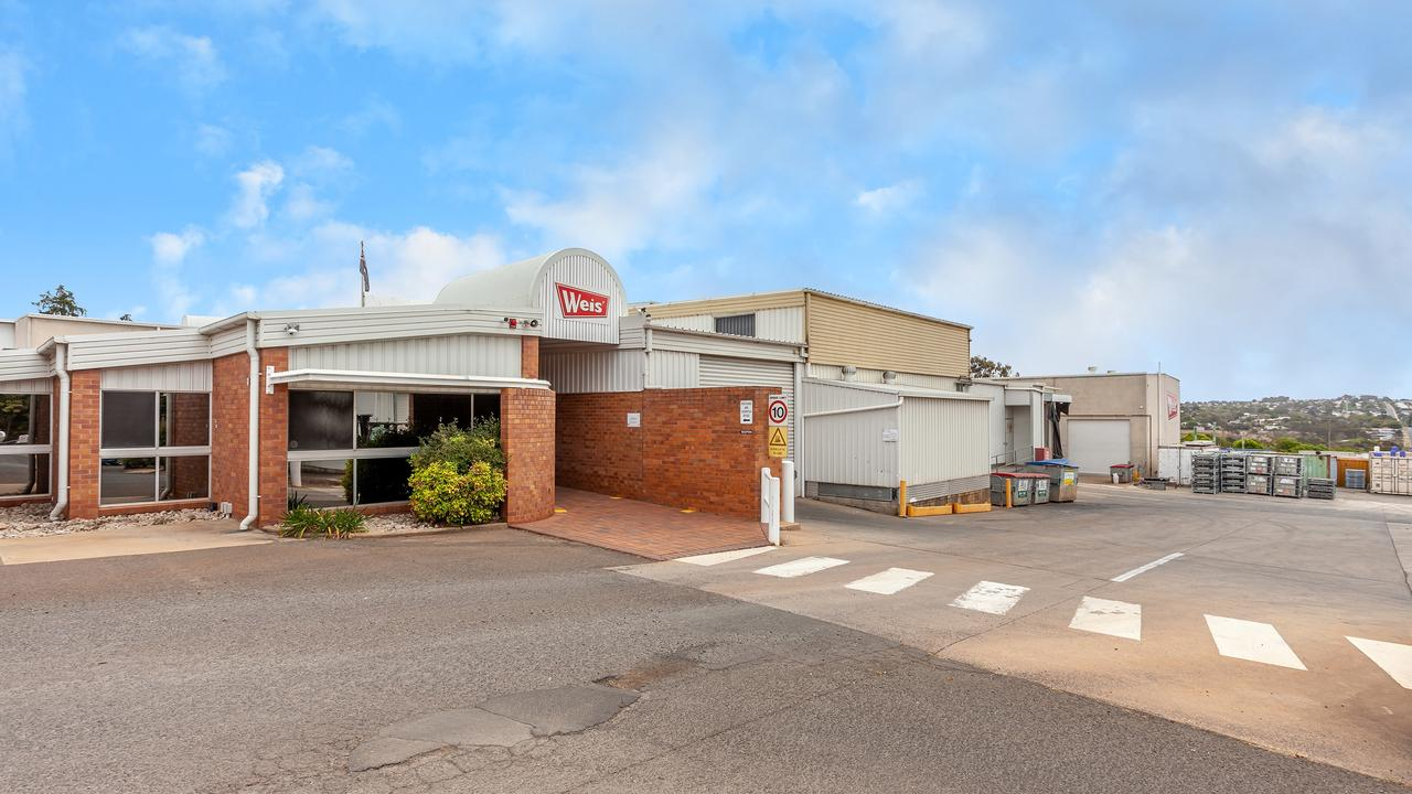 FOR SALE: The Weis factory in North Toowoomba has hit the market through an expressions of interest campaign.