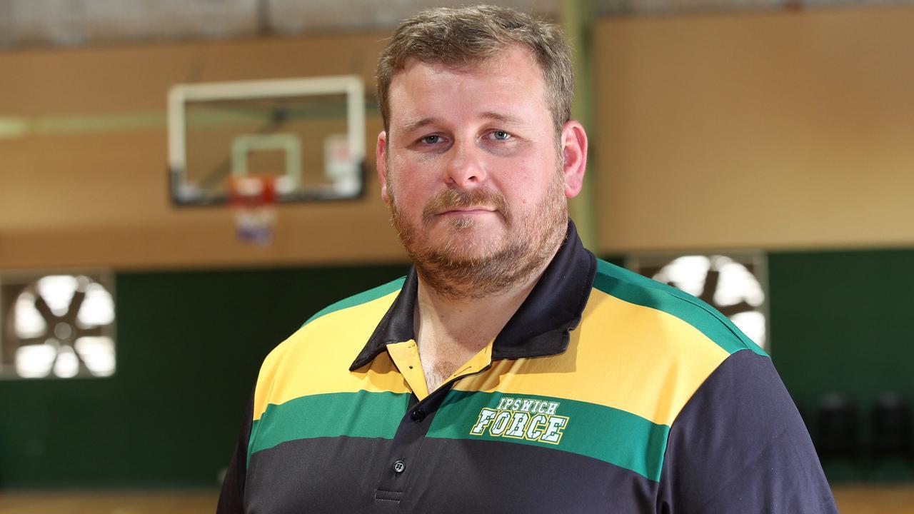 Ipswich Force men's coach Chris Riches
