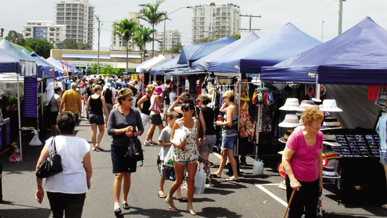 The Cotton Tree Markets are back.
