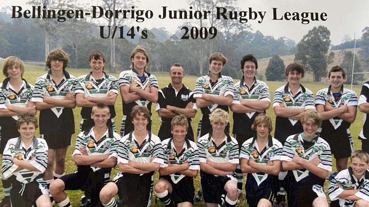 Dylan Edwards is third from left, back row.