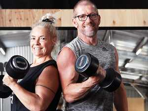 Coast couple's resilience pays off with new gym