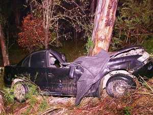 PHOTOS: Images from horror Tyringham crash scene