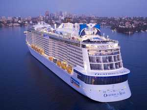High-tech cruise liner to take in Airlie on maiden voyage