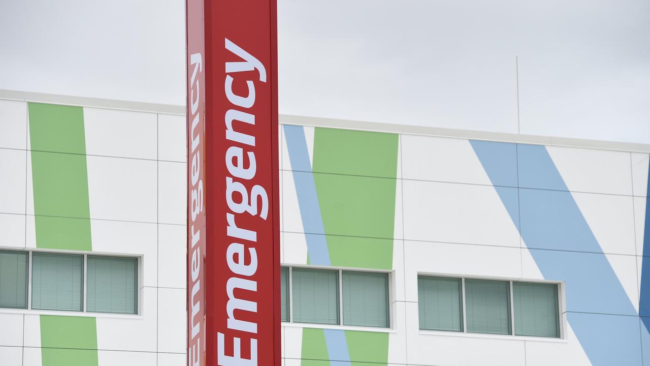 Emergency department at Hervey Bay Hospital.