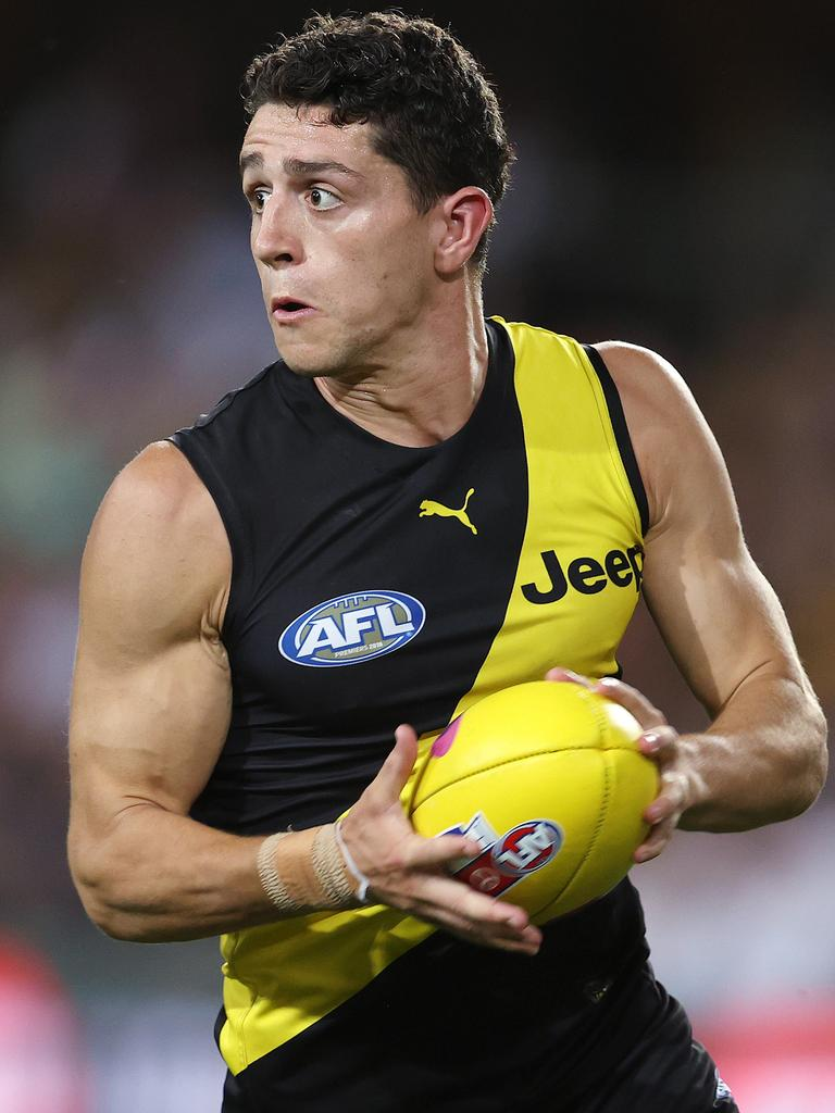 Jason Castagna brings an element of chaos to the game. Picture: Michael Klein