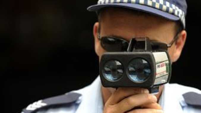 SHOCKING SPEED: Man caught 53km/h over limit