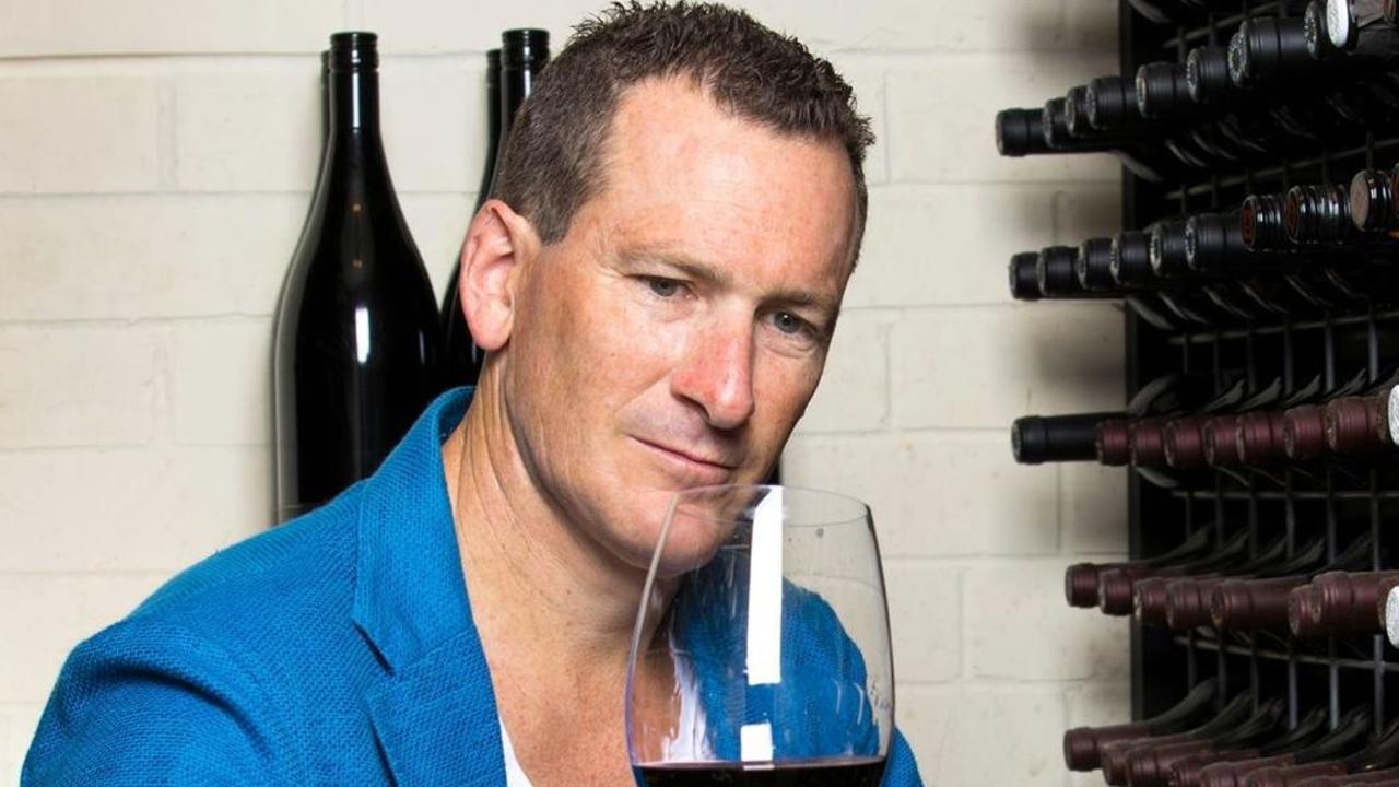 Wine guru Travis Schultz.