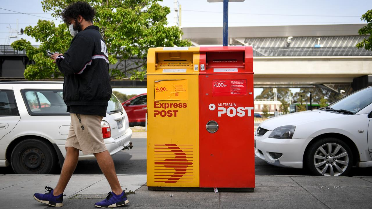 The Australia Post spending revelations sparked fury in Canberra. Picture: NCA NewsWire / Penny Stephens