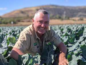 'The ground is cracked open': Farmer awaits La Niña rain