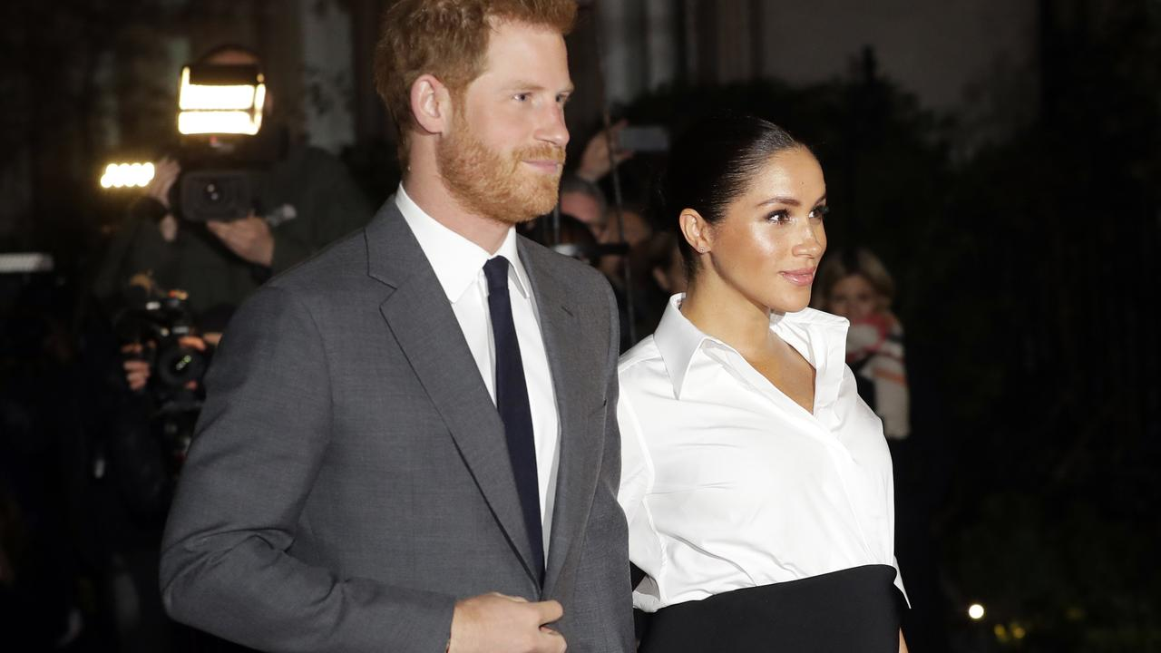 Harry and Meghan delayed the launch of their venture due to the coronavirus pandemic. Picture: Kirsty Wigglesworth/AP