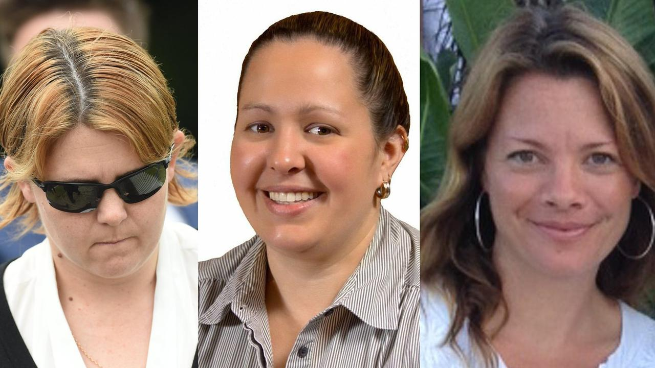 Melissa Quinn, Belinda Nott and Nicolette van Wijngaarden.