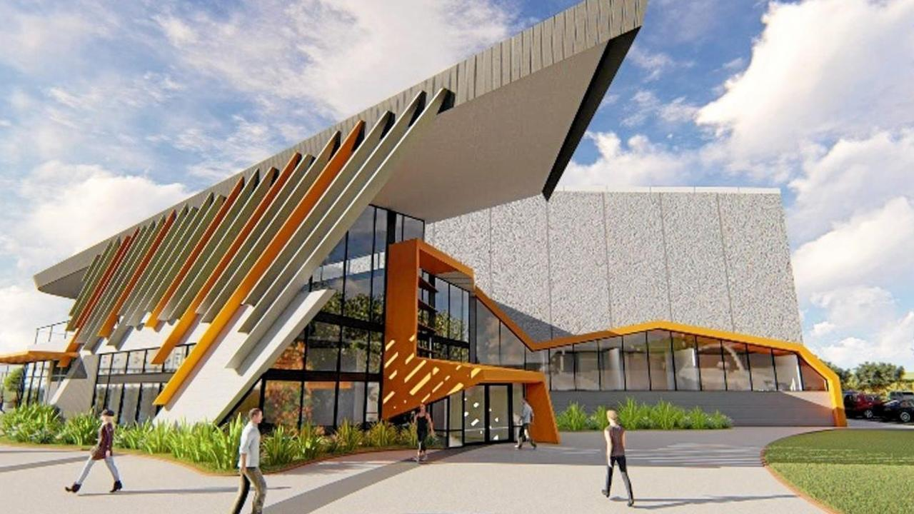 Concept designs of a community hub in the Northern Beaches.