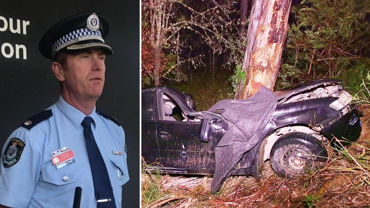 Coffs/Clarence Chief Inspector Brendan Gorman had stern words for local drivers following a horror car crash inland of Coffs.