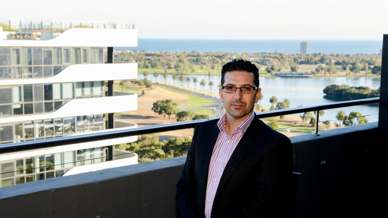 Director Paul Chiodo from Melbourne-based property developer Chiodo Constructions