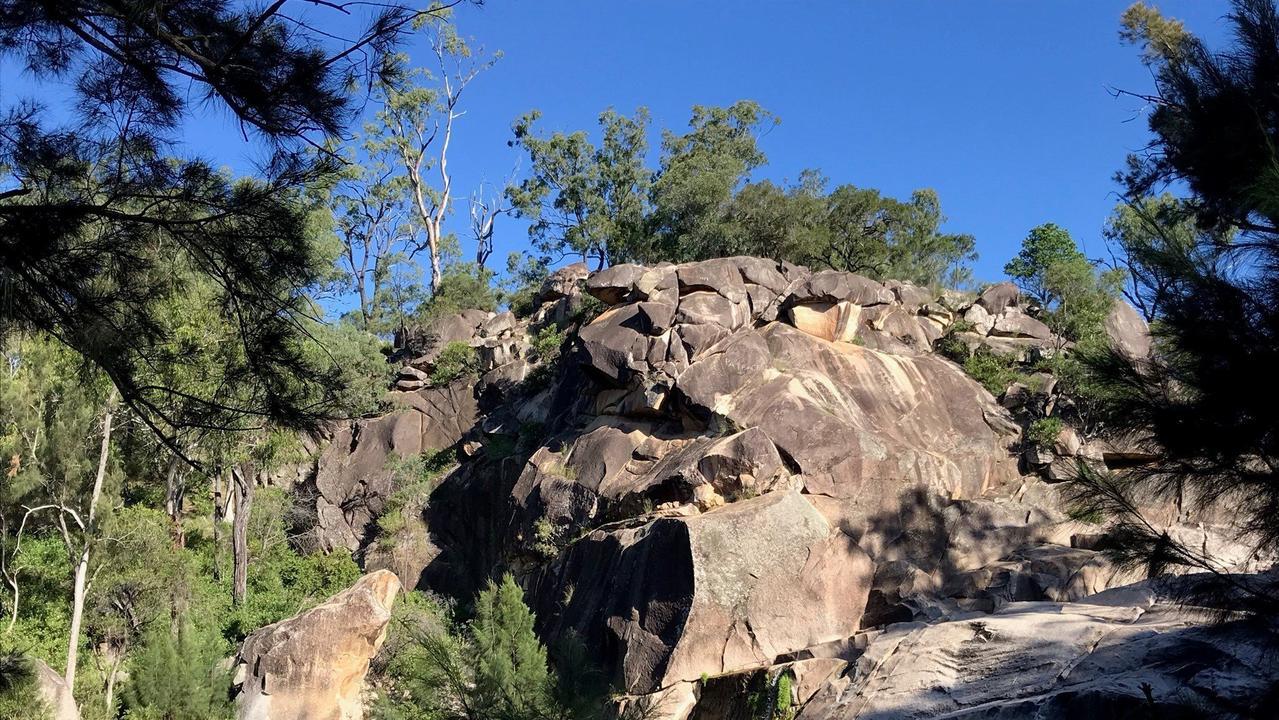 South Burnett tourism hotspot Coomba Falls. (Photo: Jessica McGrath)