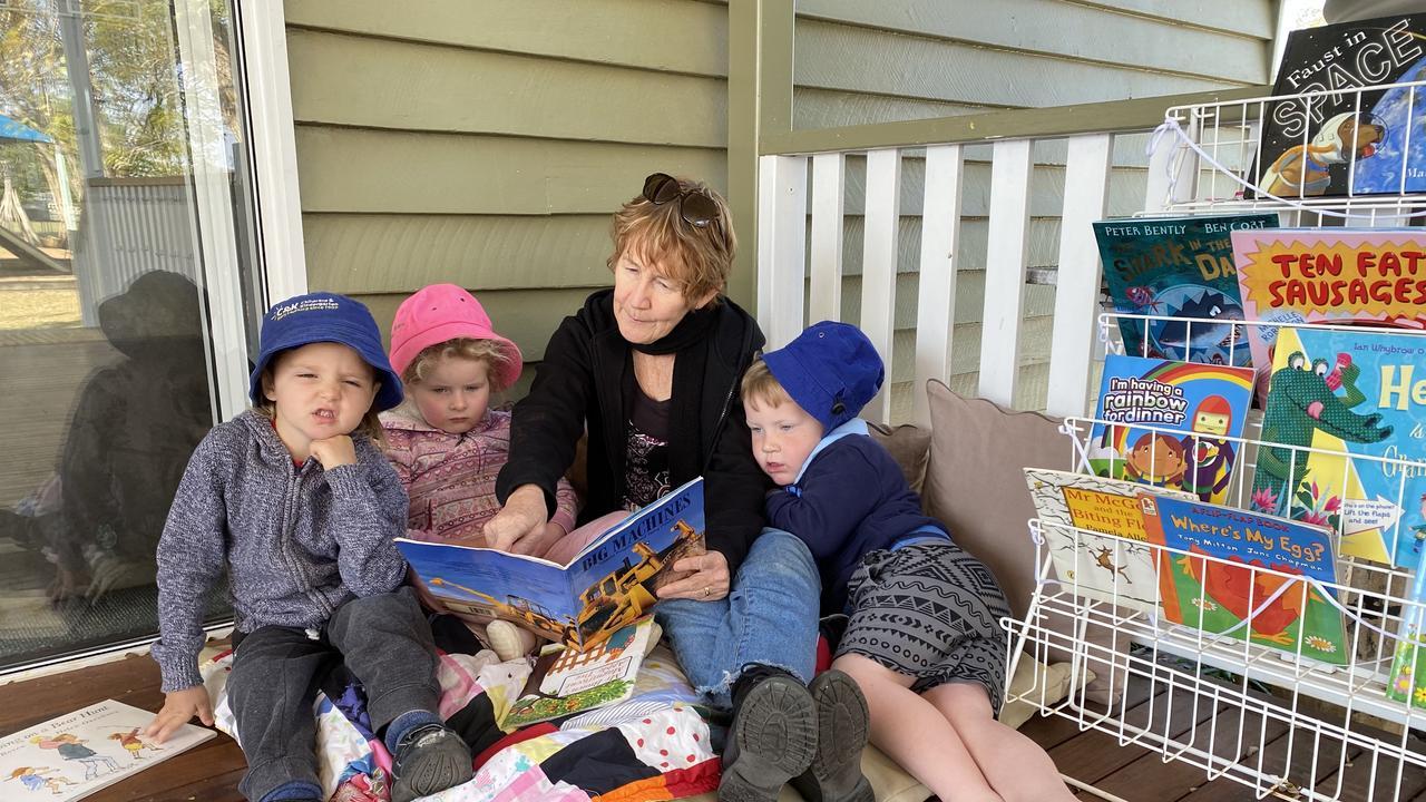 Reading time with C&K Gayndah Director Suzie McGregor