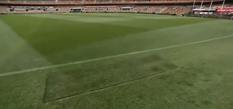 This is the MCG turf in Brisbane.