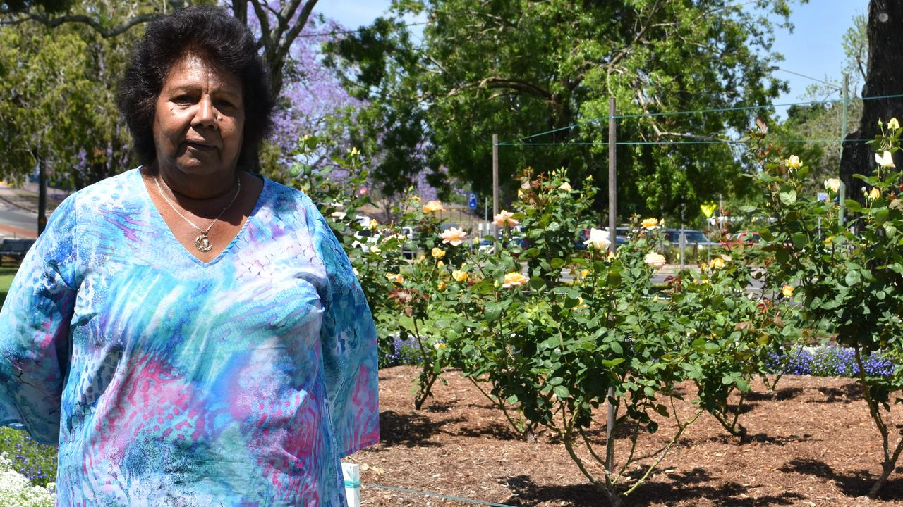 Aunty Lillian Burke in Gympie's Memorial Park has come in at #15 on the list of the region's most influential people.