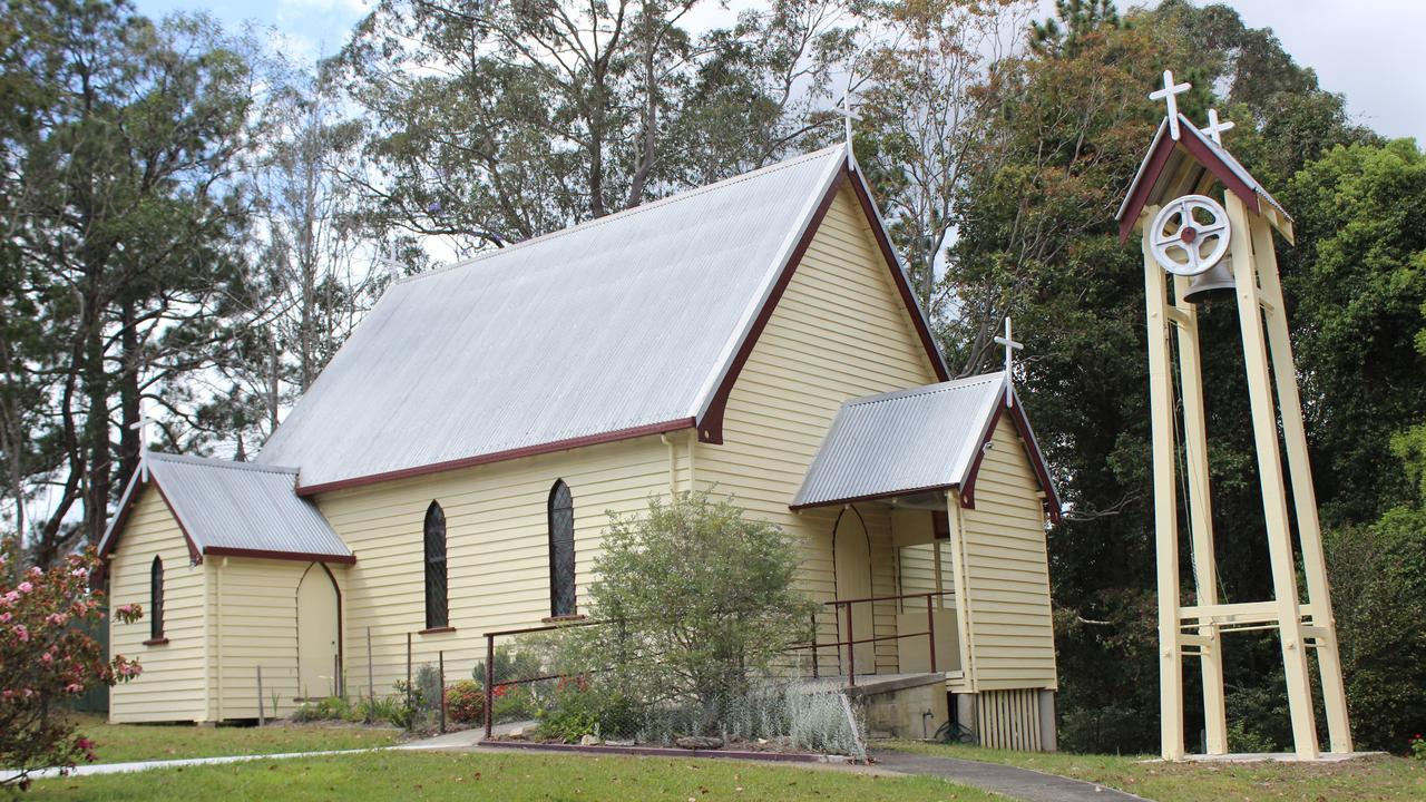 St. Peters Anglican Church at Nana Glen will remain as the sole church in the Orara Valley parish. Photo: Tim Jarrett