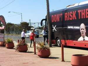 Complaint lodged over Labor's bus at Gladstone booth