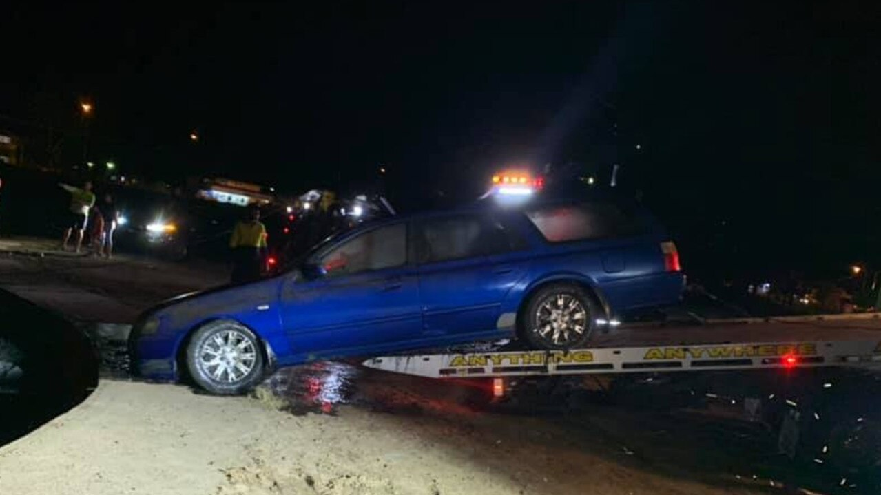 Three stolen cars were pulled from a lake near Castle Town in August.