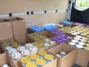 Cops seize 1350 tins of baby formula