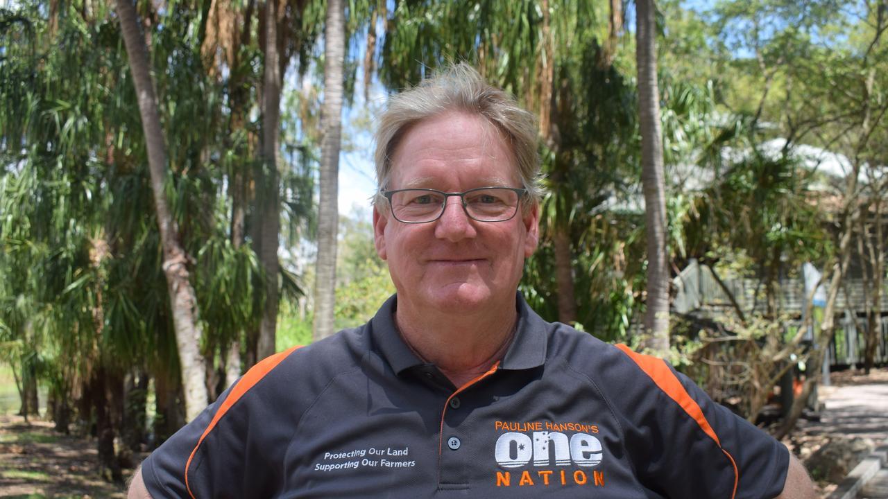 One Nation candidate Kevin Jorgensen
