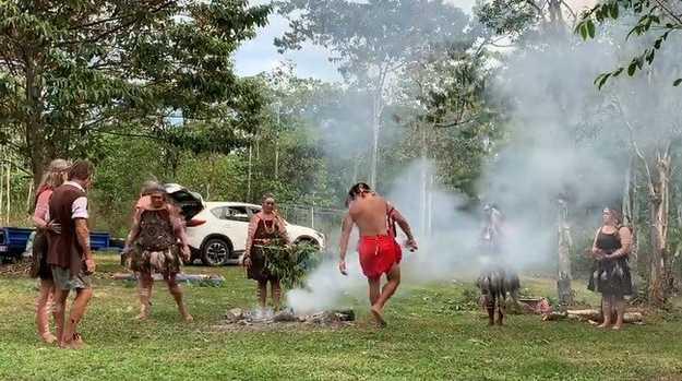 Giya Gia smoke ceremony
