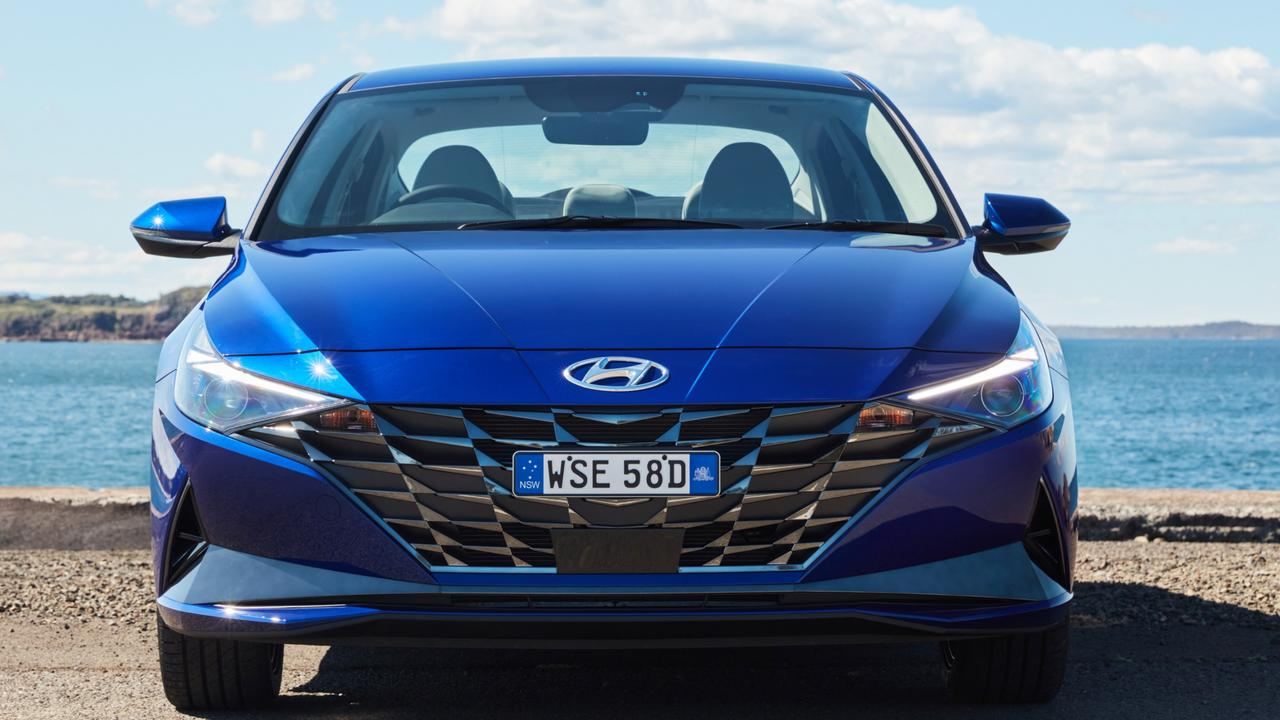 Photo of the 2020 Hyundai i30 sedan